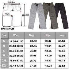 Details About Us Mens Convertible Pants Quick Dry Zip Off Shorts Outdoor Hiking Trousers S 3xl