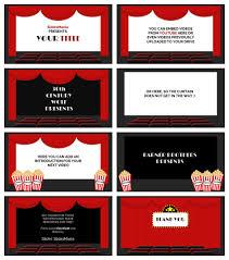 Movie Powerpoint Template Googleslides Powerpoint Ppt Movie Theater Powerpoint