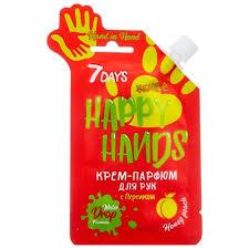 <b>Крем</b>-<b>парфюм для</b> рук <b>7days</b> happy hands с персиком — 1 отзыв о ...