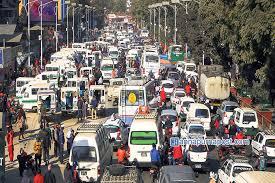 why traffic jams happen in kathmandu glocal khabar