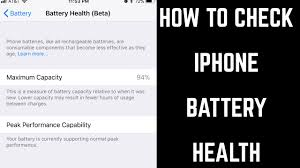 Your iphone maximum performance is just as important as your iphone uptime. How To Check Iphone Battery Health Youtube