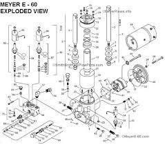 meyere 60 com meyer e 60 quik lift plow pump exploded view and meyere 60 com meyer e 60 quik lift plow pump exploded view and parts list
