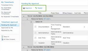 Sharepoint Time Tracking And Management Bamboo Solutions
