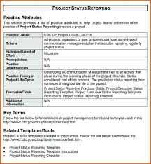 Project Status Report Sample Managerial Template Waste Management ...