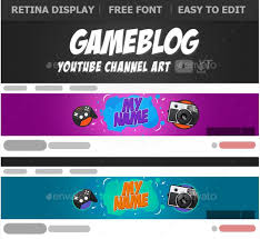 Youtube Template Psd 40 Youtube Banner Template Psd For Channel Art Texty Cafe