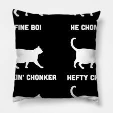 Funny Cats Meme Chonk Cat Chart Gift