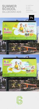 School Billboard Design Summer School Billboard Is A Modern Clean Creative And