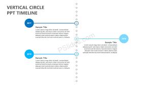 Timeline On Ppt Vertical Circle Ppt Timeline Pslides