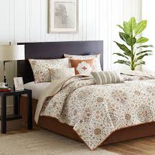 madison park tissa 6 piece quilted coverlet set king ivory