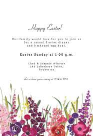 84 Easter Dinner Invitation Template Free Thanksgiving