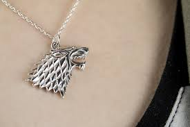 game of thrones stark sigil pendant