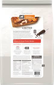 Simply Nourish Limited Ingredient Diet Sweet Potato Salmon Recipe Puppy Dry Dog Food 11 Lb Bag