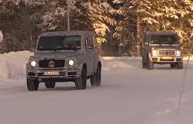 mercedes benz g wagon 2018. exellent benz 2018 mercedesbenz gclass spotted winter testing looks bigger video for mercedes benz g wagon