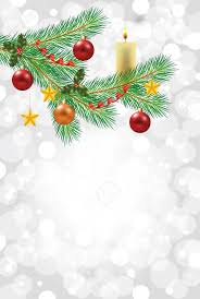 Shiny Snowflakes White Christmas Vertical Background With Decorated