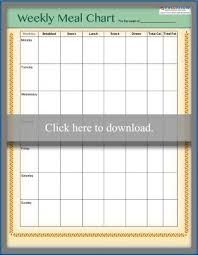 weekly weigh in charts printable weight loss charts