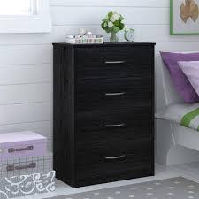 Bedroom Furniture Dresser Mainstays 4 Drawer Dresser Multiple Finishes Walmartcom