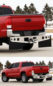 ROCKSTAR™ Hitch Mounted Mud Flaps fit the 2016 Toyota Tacoma ...