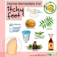 Home Remedies for Itchy Feet | Top 10 Home Remedies