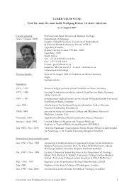Sample Resume For Pathology Collector Reflective Narrative