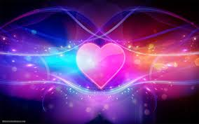 1920x1200 colorful abstract wallpaper with pink love heart hd abstract