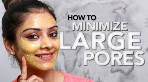 how to minimize large pores diy face mask skincare tutorial makeup tutorial foxy makeup