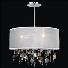 drum shade chandelier around town 005pd18sp w 9bv