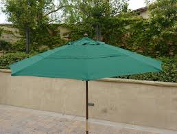 patio umbrella replacement rectangular tilt outside