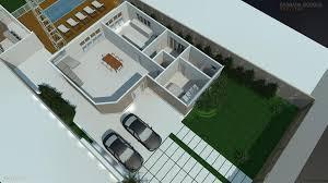 Planta de casa com 2 quartos. Plantas Casas 2 Quartos Barbara Borges Projetos