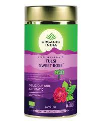 <b>Tulsi Sweet Rose</b> Loose Leaf <b>Tea</b> | Organic Herbal <b>Tea</b> | ORGANIC ...