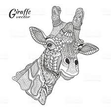 Printable Coloring Pages coloring page giraffe : 20+ Free Printable Giraffe Coloring Pages - EverFreeColoring.com