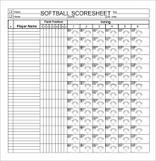 Baseball Score Book Pages Printable Blank Softball Scorebook Pages Bakaichik Com