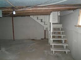 Should We Put A Door Between Kitchen And Basement - Unfinished basement stairs