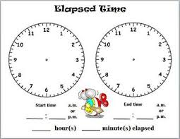 T Chart For Teaching Elapsed Time Elapsed Time Lessons Tes Teach