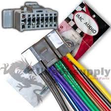 panasonic wiring harness ebay  at Radio Wiring Diagram For Panasonic Cq 5300u