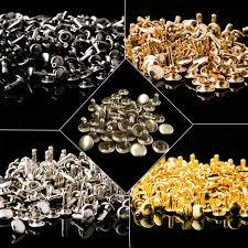 details about 50x double cap rivets leather punk craft rapid repair 6mm 7mm 8mm 9mm 10mm 12mm