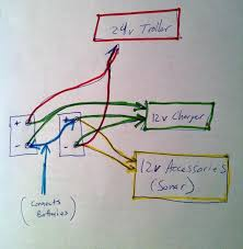 12 24 volt trolling motor battery wiring diagram the wiring can i jump start from 24volt system the hull truth boating