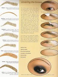 good tutorial on how to cover up your existing eyebrow and try a diffe shape by
