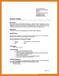 12 Types Of Resumes Mbta Online