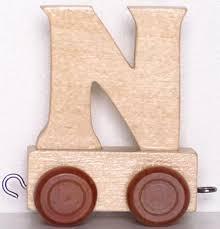 train letter n