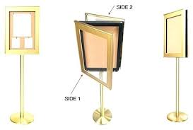 2 sided picture frame two sided frame two sided display stand double sided glass picture frame