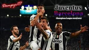 Juventus - Barcellona 3-0 (SANDRO PICCININI) 2016/2017 - YouTube