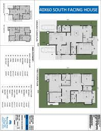 house plans 40 60 modern south facing duplex for site east in indian beautiful 60 40 floor
