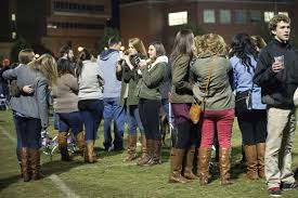 Behold a wild pack of white girls. Note the brown boots. pics