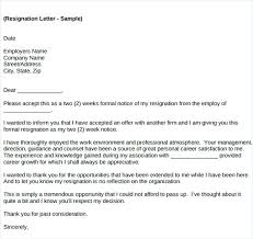 Manager Resignation Letter Sample – Komphelps.pro