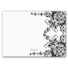 invitation t black and white invitations templates simple black and white