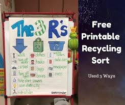 Free Recycling Sort Simply Kinder