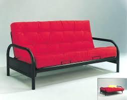 metal frame futon photo 4 of 9 red and black metal futon sofa bed frame metal