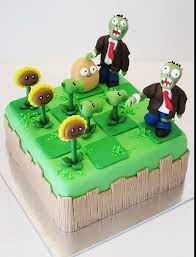 plants vs zombies! | <b>Zombie cake</b>, Plants vs <b>zombies cake</b>, Zombie ...