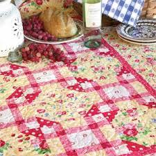 Picnic Grove: Sweet Floral/Polka Dot/Plaid Lap Quilt Pattern ... & Picnic Grove: Sweet Floral/Polka Dot/Plaid Lap Quilt Pattern Designed by  HOLLY Adamdwight.com