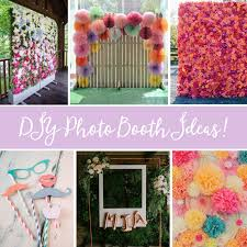 searching for a new and unique idea for creating a photo booth then we ve got you covered we ve collected some of our favourite handmade photo booth ideas
